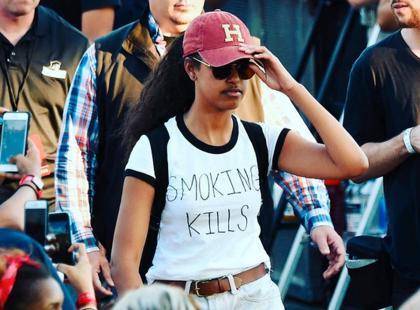 Córka Baracka Obamy stanie się influencerką? Wszystko przez ten t-shirt