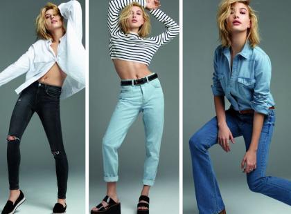Córka znanego aktora w najnowszym lookbooku Topshop Jeans
