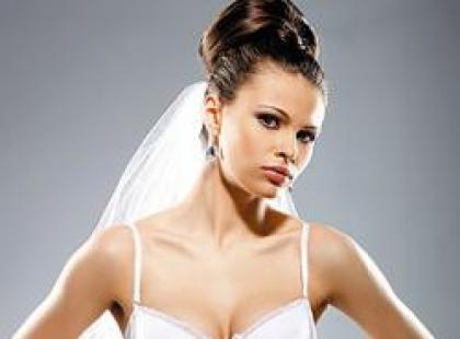 Cudowna Panna Młoda w luksusowej bieliźnie