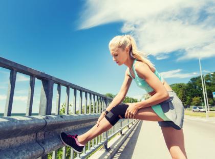 Ćwiczenia dobre dla kolan - możesz je wykonać w domu!