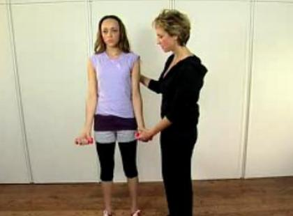 Ćwiczenia na piękne ramiona