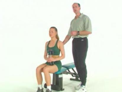 Ćwiczenia na wzmocnienie ramion - video