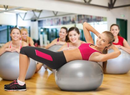 Ćwiczenia z piłką Body Ball