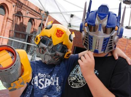 """Cykl imprez w centrach handlowych - """"Moc Atrakcji z Transformers"""""""