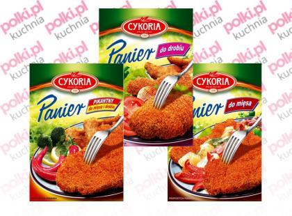 Cykoria - Paniery do mięs i ryb