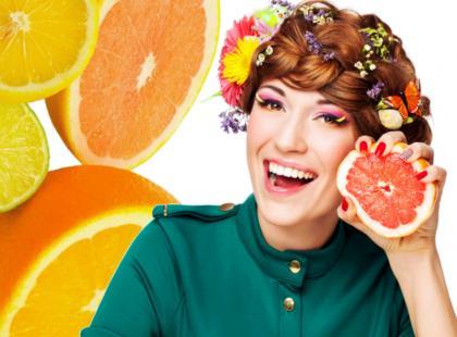 Cytrusowy make-up na lato!