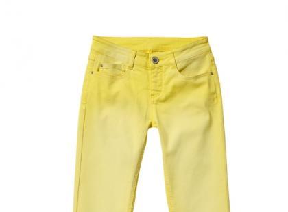 Cytrynowe jeansy - C&A