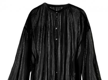 Czarna koszula- H&M wiosna 2013