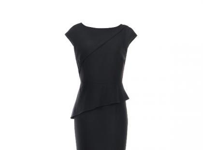 Czarna sukienka - Tatuum, zima 2012/13