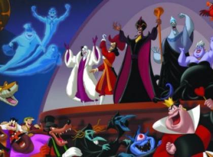 Czarne charaktery w świecie Disneya