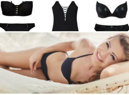 Czarne kostiumy kąpielowe - przegląd