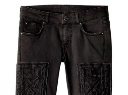 Czarne spodnie rurki- H&M wiosna 2013