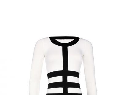 Czarno-biała sukienka – Gatta