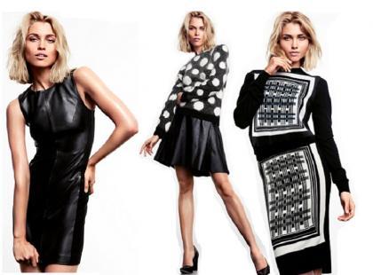 Czarno-białe propozycje od H&M