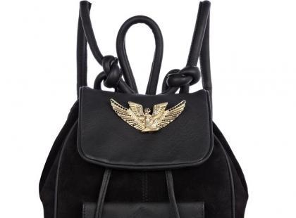 Czarny plecak- Rihanna dla River Island