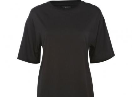 Czarny T-shirt - Rihanna dla River Island