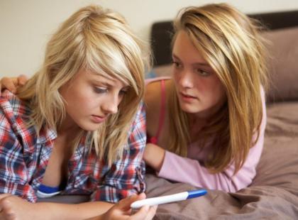 Czego potrzebuje ciężarna nastolatka?