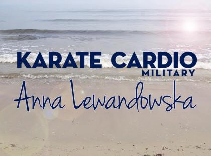 Czekałyśmy na to! Trening Karate Cardio Military Anny Lewandowskiej już na DVD