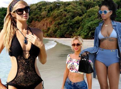 Czekamy na lato: gwiazdy w plażowych stylizacjach