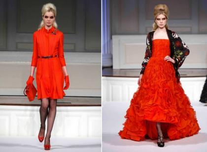 Czerwień - najważniejsze trendy 2011 roku