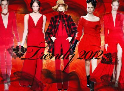 Czerwień - najważniejsze trendy na jesień-zimę 2011/2012