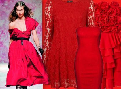 Czerwona sukienka - hit na karnawał