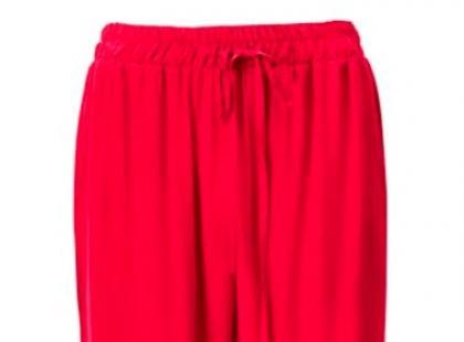Czerwone spodnie- H&M wiosna 2013