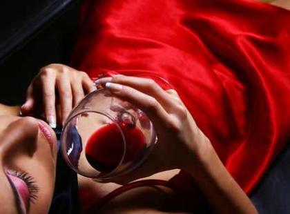 Czerwone wino – pożądanie w płynie