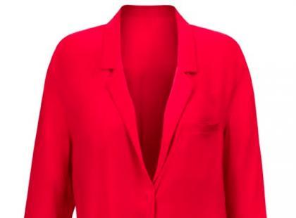 Czerwony blezer- H&M wiosna 2013