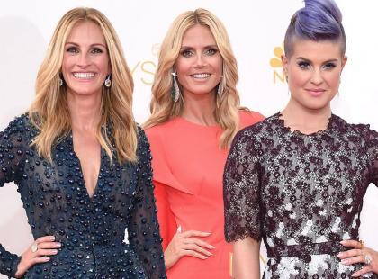 Czerwony dywan na 66. rozdaniu Emmy Awards pełny gwiazd