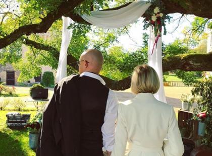 Czy Ania Wyszkoni wyszła za mąż? Zobacz jej weselną kreację!