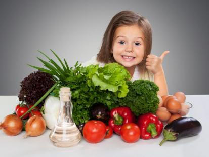 Czy dzieci mogą być wegetarianami?