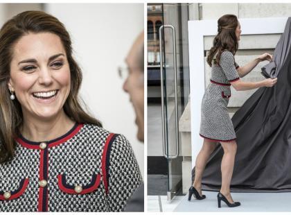 Czy Kate zaliczyła modową wpadkę? Oceńcie sami!