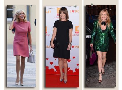 Czy kobieta po 40., ba, nawet po 60. jak np. Brigitte Macron może nosić mini?