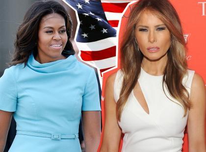 Czy Melania godnie (stylowo) zastąpi Michelle? Sprawdź, co na ten temat myślą eksperci