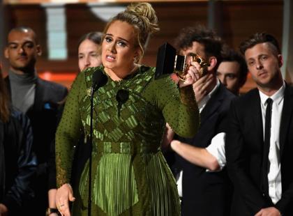 Czy mogło wydarzyć się coś bardziej wzruszającego na Grammy, niż przemowa Adele?