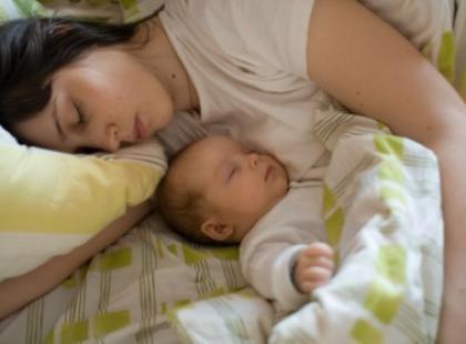 Czy można się wyspać przy małym dziecku?