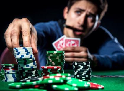 Czy on jest uzależniony od hazardu?