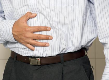 Ból brzucha spowodowany niedrożnością jelit./fot. Fotolia