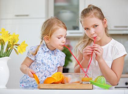 Czy świeże warzywa i owoce można zastąpić sokiem?