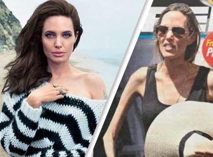 Czy to retusz, czy Angelina Jolie faktycznie waży 35 kilogramów?!