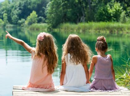 Czy warto jechać z dzieckiem nad jezioro?