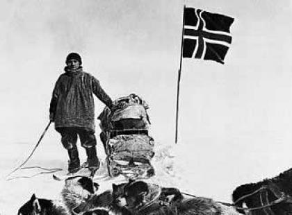 Czy wiesz dlaczego Amundsen jako pierwszy zdobył biegun południowy?