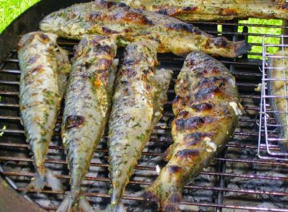 Czy wiesz jak grillować całe ryby?