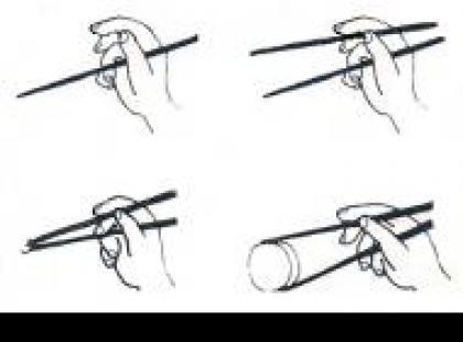 Czy wiesz jak używać pałeczek?