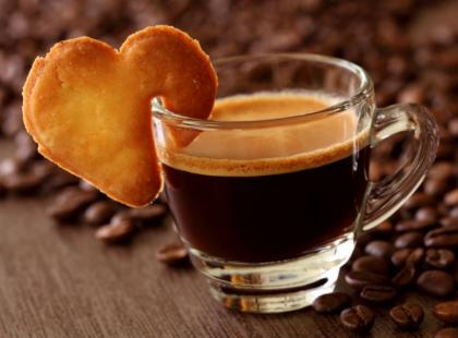 Kawa walentynkowa.