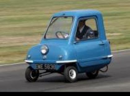 Czy wiesz, że Peel P50 to najmniejszy samochód świata?