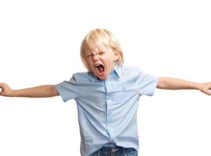 adhd, dziecko, energia, złość, agresja/fot. Fotolia