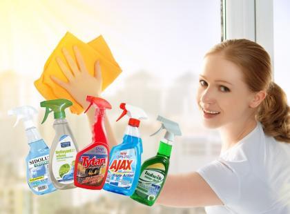Czym myć szyby?