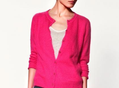 Damska kolekcja swetrów Zara - jesień/zima 2011/2012